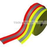 Fire Flame Resistance reflective fabric and warning resistance reflective fabric strip                                                                         Quality Choice