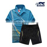 hot sale sublimated badminton jersey/short wholesale badminton wear