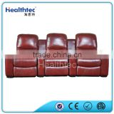 2016 red cinema recliner sofa chair 3 seats a line B015