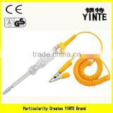 China Factory Automotive circuit pen tester/car battery tester with AS material and Yellow color