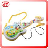 Musical instruments plastic toy guitar with microphone