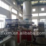 Extruding granulating line for PET flakes