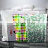 high quality heat sealclothes packing bag , shenzhen china po die cut custom printing hdpe shopping bag