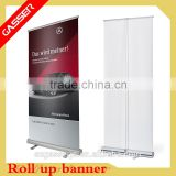 Factory custom advertizing free standing rotation banner