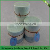 Pillar Shape and 100% paraffin Paraffin Wax Material hot sale paraffin wax candle with real flame