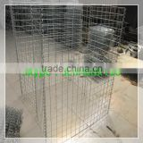 Alibaba Jiuzhou steel wire gabions fence welded gabion hesco fence China manufacture hesco fence
