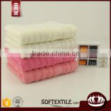 100% cotton soft Gauze cloth solid color face towel