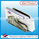 Factory price promotional stainless steel business card holder metal credit card holder case