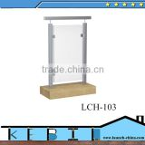 square stainless steel fence post prices construction glass railing