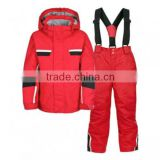 Girls one piece snow suit