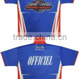 Custom Sublimation Race Crew Shirt