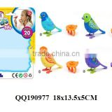 2014 newest digi birds sing toys by iphone system,sound control singing birds