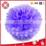 "5"" Tissue paper flower ball, christmas day and home decoration"