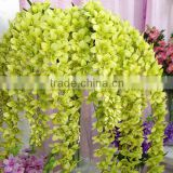 Artificial wisteria silk flower wall decoration