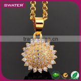 Wholesale Indian Jewelry Gold Stainless Steel Ball Chain Necklace