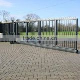 Manual Control Opening Pattern and Swing,Swing or sliding Open Style Garden arch wrought iron gate