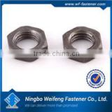 China hardware fastener supply din 6334 hex coupling nuts zinc plated manufacturers exporters