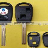 2 button remote key shell blank case for Lexus ES 300 RX300 ES GS IS GX LX RX SC with TOY 48 short blade no chip inside