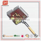 BBQ Tools Fish Clip Net Folder Grilled Fish Folder Barbecue Clip Accessories Barbecue Supplies