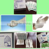 2015 hot sell latex medical gloves with CE FDA manufacture