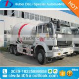 Top design New technology HOWO 6*4 10CBM Concrete mixing truck heavy duty for sale