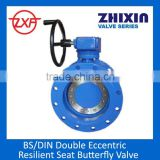 ISO 5752 Series 13,14 Double eccentric butterfly valve