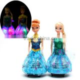 Hot Sale Pretty LED Light Princess Dolls For Girls/Make your own Beautiful Girl Dolls With LED Light China Factory