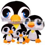 ICTI factory professional Customized soft stuffed plush penguin sea animal toy for promotion(EN71-1,2,3)