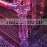 Glass Stair Handrail Crystal Pillar