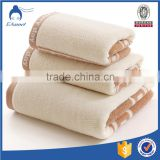 Factory cheap wholesale embroidery bath towel gift set lace, cotton bath towel set