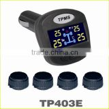 High sensitive 4 internal external sensors for hyundai car tpms tyre pressure monitor system