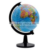 Wholesale 10.6cm Educational Earth Globe PVC Globe Map Shool Plastic Globe Geography Subject Globe Children toys saving bank