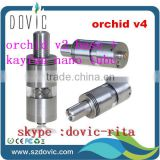 New design e cig rda atomizer orchid v4 atomizer clone , high quality orchid v4 wholesale