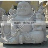 Hand Carving Natural Stone Large Buddha Statue