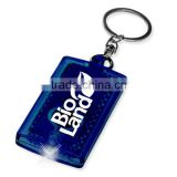New Online Fashion plastic keychain customized remove before flight keychain car keychain