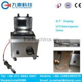 GT-102B pan and tilt sewer pipe inspection camera robot|pipe line inspection surveillance robot