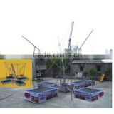 red mini trampoline, ZY-TR061	outdoor single bungee trampoline