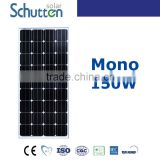 sales price for solar panels momo 150 -Grade A cell (canadian or yingli) Schutten
