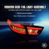 Direct Factory auto spare parts Red black CE Certification and LED Lamp Type LED Tail light Assembly For IX35 Update 10- 14 year
