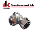 90 Degree stainless steel 3 way elbow pipe fittings