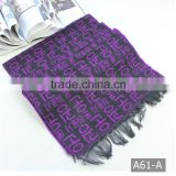 A61-A Multi Colors Long pashmina cashmere shawl scarf                                                                                                         Supplier's Choice