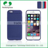 Mobile phone accessories network design soft TPU leather pattern finish back cover for Apple iPhone 6s