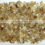 loose natural citrine quartz raw rough yellow orange gemstones small size semi precious wholesale