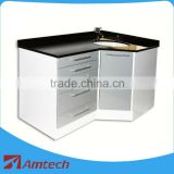 High quality functional clinic cabinet AM-07-2 for dental corner cabinet hospital furniture