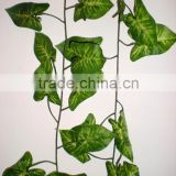 China Manufacturer 9.8 feet Artificial Silk Artificial Ivy Leaf Leave Garland Plants