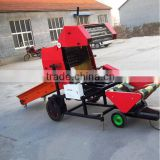 Newest style ensilage baler/ mini baler for hay, grass, alfalfa, straw, silage