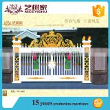 Hot sale Alibaba aluminum factory main gate designs, house gate designs pictures, main gate design home