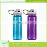 2014 the hot sale new design BPA free active carbon filter water bottle with customized color