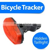 gps tracker for bicycle bike with taillight and hidden wireless gsm security bike alarm KingNeed T16