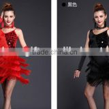 Modern Dance Costumes, Belly Dress for women, sequined tassels costumes for sale
